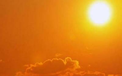 سورج کی تپش نے سارے ملک کا موسم گرما دیا۔