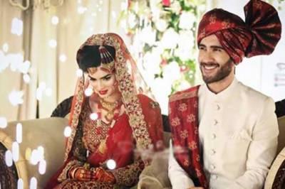 فیروز خان گزشتہ روز علیزے فاطمہ کے ساتھ شادی کے بندھن میں بندھ گئے