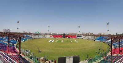 نوسال بعد نیشنل اسٹیڈیم کراچی انٹرنیشنل کرکٹ کی میزبانی کے لیے تیار