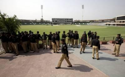 پاکستان اور ویسٹ انڈیز کے درمیان ٹی ٹونٹی سیریز کیلئے سیکیورٹی کے فول پروف انتظامات