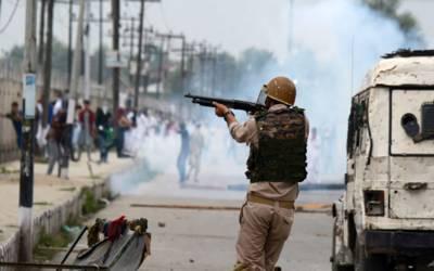 بھارتی افواج کے ہاتھوں بے گناہ معصوم شہریوں کو شہید اور زخمی کرنے کے خلاف نیلم میں شدید احتجاج