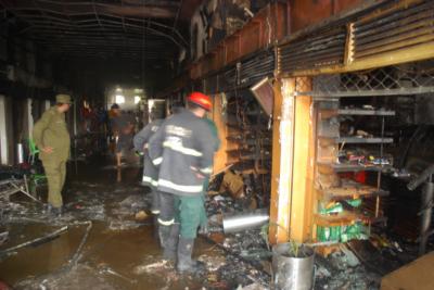 Five dead in Barkat Market bakery fire
