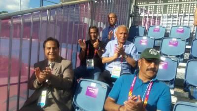 گرین شرٹس نے انگلینڈ کے خلاف شاندار کھیل پیش کیا، پاکستان مملائیشیا سے جیت کر سیمی فائنل کیلئے کوالیفائی کرے گا:پاکستان ہاکی ٹیم کے مینیجراور معاون کوچ