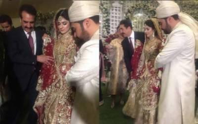 راحیل شریف کے بیٹے کی شادی کی تصاویر، ویڈیو سوشل میڈیا پر وائرل