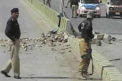 کوئٹہ میں بم دھماکے کے نتیجے میں پانچ ایف سی اہلکار زخمی ہوگئے