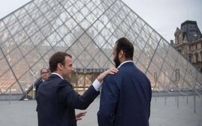 سعودی ولی عہد کی فرانس کے صدر سے اہم ملاقات