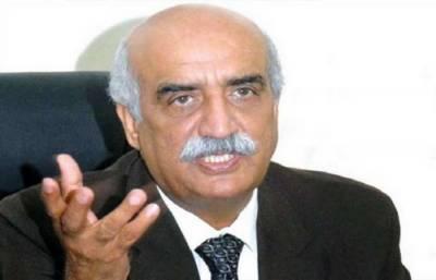 خورشید شاہ نے خبردار کیا ہے کہ اداروں نے پرانے کھیل میں حصہ ڈالا تو ملک سے وفا نہیں ہوگی۔