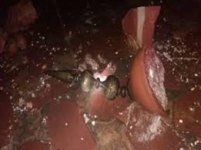 بھارت کےشہرآگرہ میں بدھ کی شب تیزآندھی،تاج محل کوجزوی نقصان
