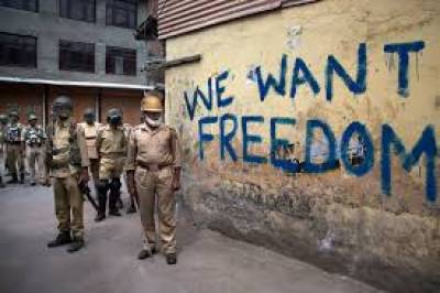 Indian Conflicts Continued In Occupied Kashmir .