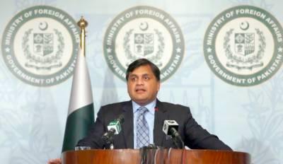 پاکستان پہلے بھی سارک کانفرنس کے لیے تیارتھا اب بھی تیارہے, وزیراعظم کا دورہ افغانستان کامیاب رہا۔افغانستان میں امن کا واحد حل مذاکرات ہیں,ترجمان دفترخارجہ