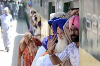 خالصہ جنم دن اوربیساکھی میلہ منانے کےلیے بھارتی سکھ یاتری پاکستان پہنچ گئے