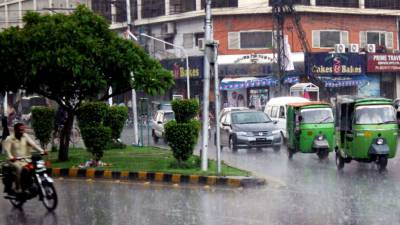Pleasant weather of the different cities of punjab