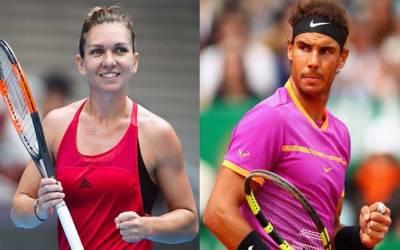 ٹینس کی تازہ ترین عالمی رینکنگ:رافیل نڈال مردوں میں اور خواتین میں سیمونا ہالیپ پہلے نمبر پر براجمان