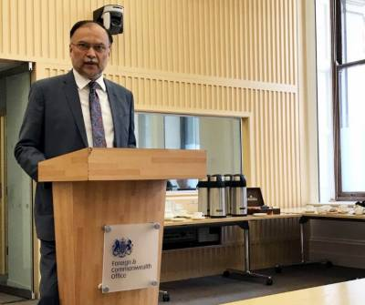 پاکستان کو افغانستان میں سوویت یونین کیخلاف جنگ کے بعد تنہا چھوڑ دیا گیا, پاکستان نے اکیلے ان چیلنجوں کا مقابلہ کیا اوراسکی بھاری قیمت ادا کی, وزیرداخلہ احسن اقبال