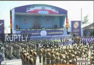 ایران میں یوم افواج پریڈ کے موقع پرزبردست فوجی طاقت کا مظاہرہ کیا گیا