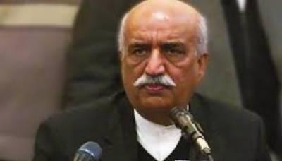 ایسے نام کے لئے کوشاں ہیں جو غیر جانبدار ہو، پرامید ہوں شاہد خاقان عباسی سے نگران وزیراعظم پر اتفاق ہوجائے گا: خورشید شاہ