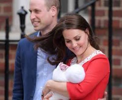 برطانوی شاہی خاندان کے بڑے شہزادے ولیم کے ہاں تیسرے بچے کی پیدائش