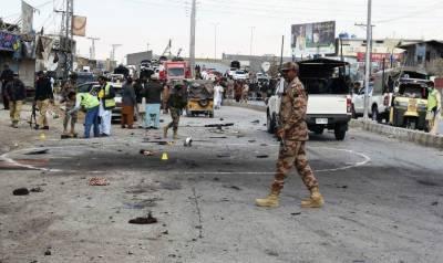کوئٹہ میں تین خودکش حملوں کے نتیجے میں پانچ پولیس اہلکارشہید اورسات زخمی