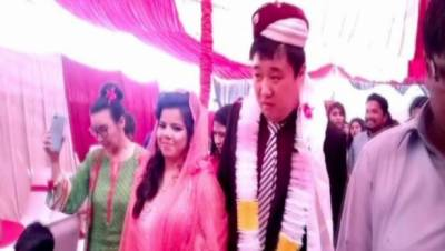 چینی پروانہ پاکستانی شمع سے بیاہ رچانے سرگودھا آپہنچا