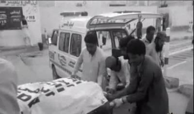 ئیرپورٹ روڈ پر پولیس ٹرک پر حملے کے نتیجے میں شہید ہونے والے5 پولیس اہلکاروں کی نماز جنازہ ادا کردی گئی