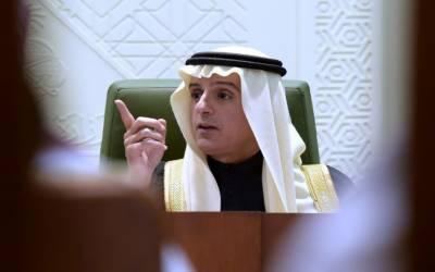 قطر کو شام میں امریکی افواج کی موجودگی کی قیمت ادا کرنا ہوگی۔ سعودی وزیر خارجہ
