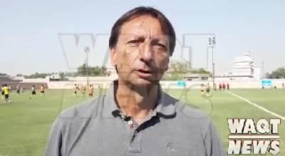 قومی ٹیم کے فٹبال کوچ جوز نیگورا کی وقت نیوز سے خصوصی گفتگو پاکستانی فٹبال کو اگلے لیول تک پہنچائیں گے، برازیلین کوچ جوز اینٹونیو نیگورا