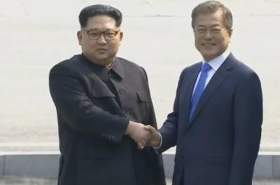 شمالی کوریا کے سربراہ کم جونگ ان اور جنوبی کوریا کے صدر مون جائی کے درمیان تاریخی ملاقات