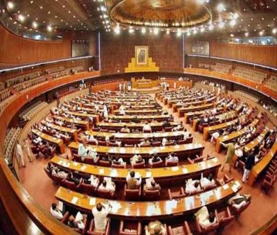 قومی اسمبلی میں حکومتی وزرا کی جانب پی ٹی آئی خواتین کے خلاف نازیبا زبان کے استعمال پرمتفقہ قراردادمنظور