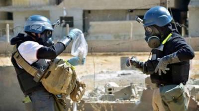شامی شہر دوما میں معائنہ کاروں نے کیمیائی ہتھیاروں کے بارے چھان بین مکمل کر لی۔