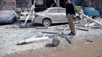 پشاور کے جی ٹی روڈ پر ہوٹل کے کمرے میں دھماکے سے پانچ افراد جاں بحق, دو زخمی ہوگئے