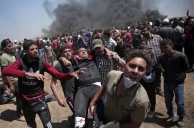 فلسطین میں اسرائیل کے مظالم کے خلاف مختلف ممالک میں احتجاج کا سلسلہ جاری ہے