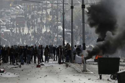 More unrest feared In Palestinians.
