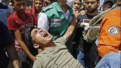 فلسطین میں اسرائیلی بربریت پر ردعمل کا اظہار