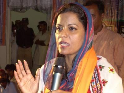 نوازشریف کے ممبی حملوں کے متعلق دیا گیا بیان اپنے آقاوٗں کو خوش کرنا ہے،سیدہ نفیسہ شاہ جیلانی