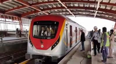 اورنج ٹرین کا ٹیسٹ رن 16 مئی کو ہوگا۔