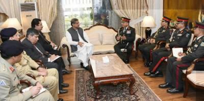 وزیراعظم سے نیپال کے آرمی چیف کی ملاقات ،دوطرفہ تعلقات سے متعلق امورپرتبادلہ خیال