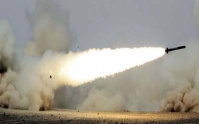 سعودی فوج نے جازان میں حوثیوں کا بیلسٹک میزائل مار گرایا۔