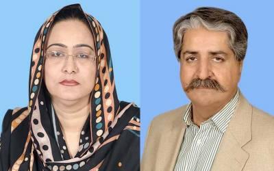 سید نوید قمر اور شگفتہ جمانی نے قائمہ کمیٹی قانون وانصاف سے استعفی دے دیا۔