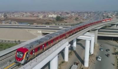 وزیر اعلیٰ پنجاب نے لاہور میں اورنج ٹرین کی آزمائشی سروس کاافتتاح کردیا