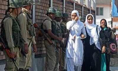 بھارتی وزیراعظم نریندر مودی کے دورے سے قبل مقبوضہ کشمیرمیں سخت پابندیاں نافذ