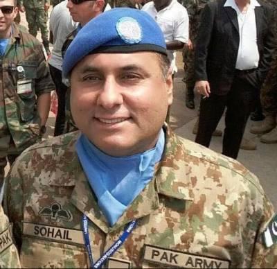 بلوچستان میں پاک دھرتی کو دہشتگردوں سے پاک کرتے ہوئے کرنل سہیل عابد عباسی جام شہادت نوش کر گئے