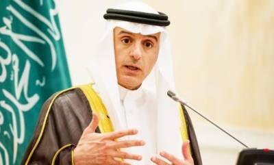قاہرہ:سعودی وزیرخارجہ عادل الجبیرکاعرب وزرائےخارجہ ہنگامی اجلاس سےخطاب