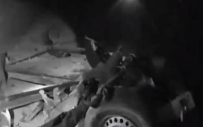 5دہشتگردوں نے دھماکا خیزمواد سےبھری گاڑی اندر لیجانے کی کوشش کی، آئی ایس پی آر