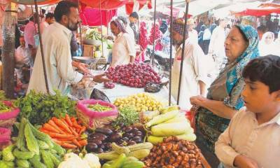 Prices of food items witness increase ahead of Ramazan .