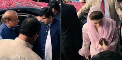 احتساب عدالت میں شریف خاندان کے خلاف ایون فیلڈ ریفرنس کی سماعت کے دوران وکیل خواجہ حارث نے ملزمان کو دئیے گئے سوالنامے پر اعتراض اٹھا دیا