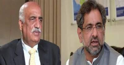 Shahid Khaqan Abbasi, Khursheed finalise caretaker Prime Minister today