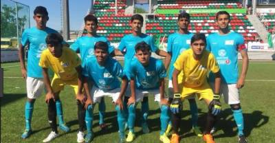 اسلام آباد:کپتان اسٹریٹ چلڈرن فٹبال ٹیم محمدعبداللہ کی میڈیاسےگفتگو