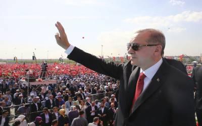 ترکی میں فلسطینیوں سے اظہار یکجہتی کیلئے ریلی، 5 لاکھ افراد کی شرکت
