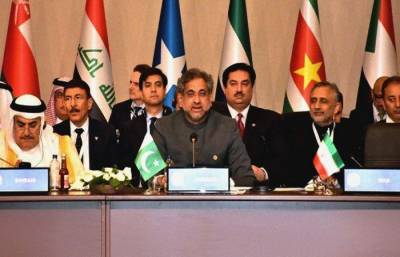 PM Abbasi tells OIC multi-pronged response needed for Israeli violence