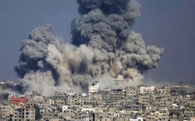 شامی شہر حما کے بارودی گودام میں پانچ بم دھماکے،11افرادہلاک
